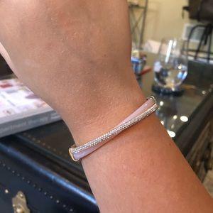 MICHAEL KORS- pave criss cross hinge bracelet